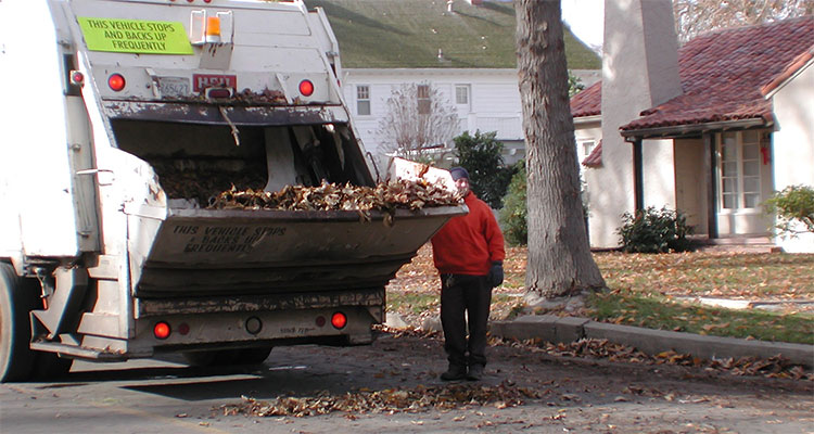 Leaf Pickup Program City Of Turlock Water Sewer